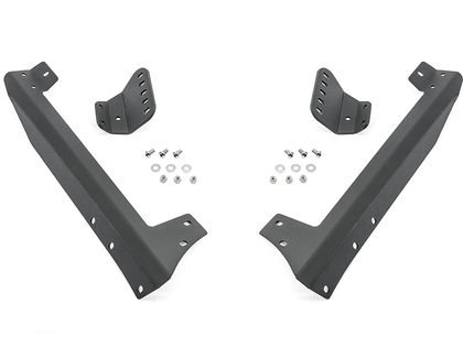 "N-FAB Jeep 50"" Modular Windshield Mount Brackets Only"