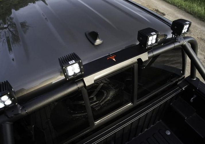 Bed bar rear light mount light mounting n fab n fab click on image to enable zoom aloadofball Gallery