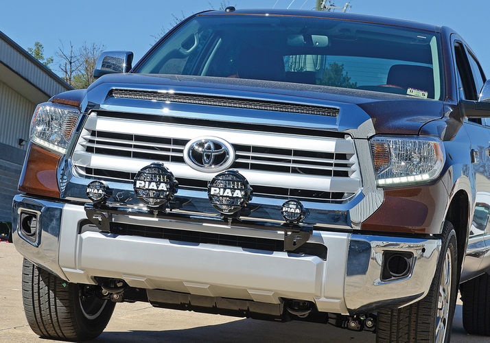 N Fab Front Mount Light Bars With Tabs N Fab
