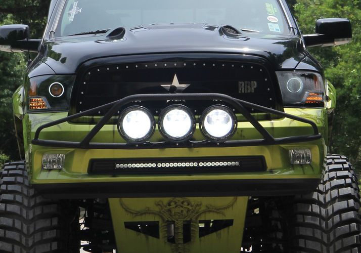 Prerunner Front Mount Light Bars Light Mounting N Fab